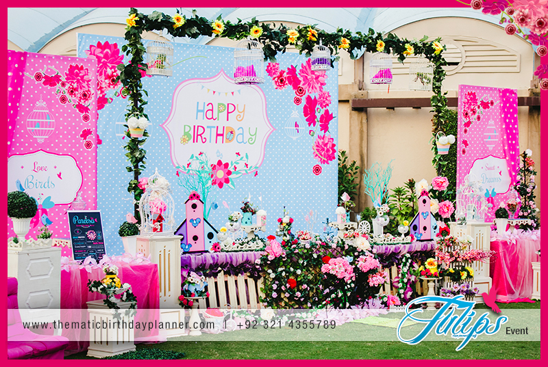 Garden Theme Birthday Party Decoration Ideas In Pakistan