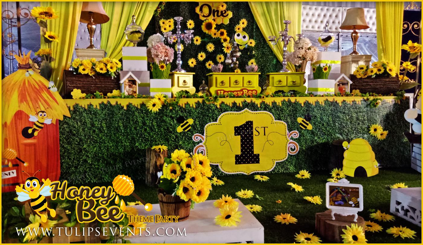 honey bee themed first birthday best