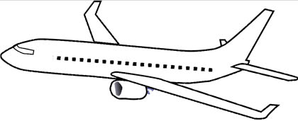 Malvorlagen Flugzeug - Food Ideas