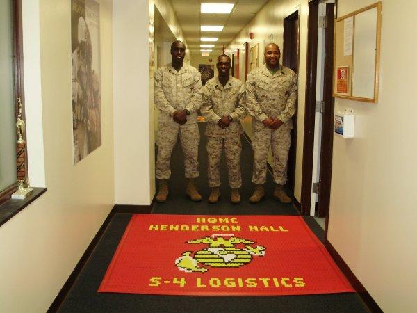 Henderson Hall Headquarters Marine Corps Logo