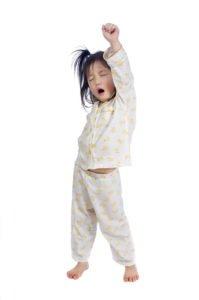 Make sure your child sleeps well.