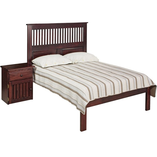 Maluti Bed (Chestnut) - King Bed