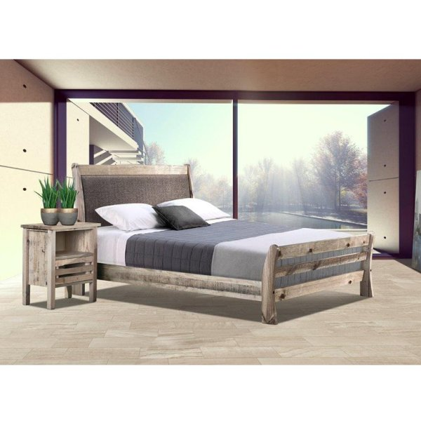 Tortuga Bed (Driftwood) - Queen Bed