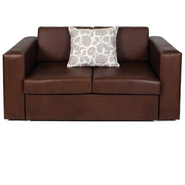 Villa Leather Sleeper Couch - Double