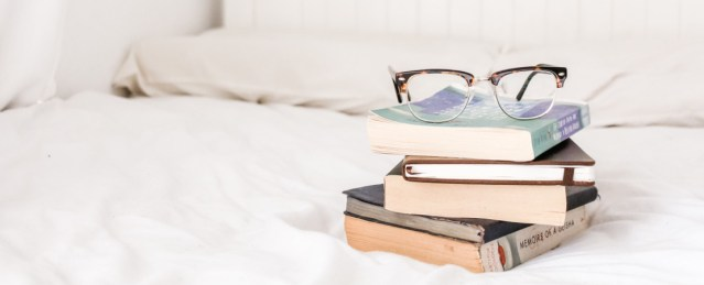 get comfortable when reading in bed