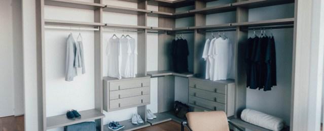 organise your bedroom, declutter your closet