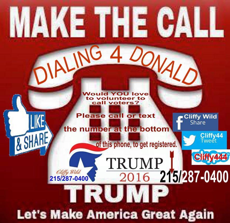 Make Phone Calls For Trump!