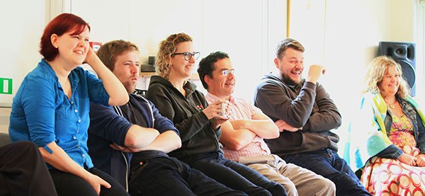 10 improv tips for workplace happiness
