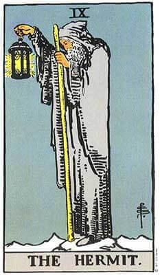 Tarot card - The Hermit