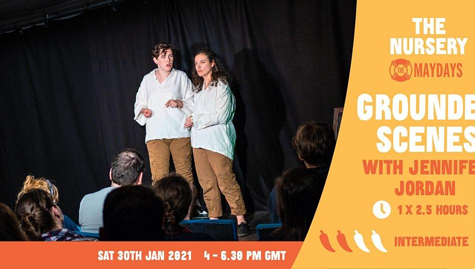 Online Improv Elective: Grounded scenes