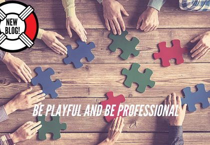 Be Playful and Be Professional