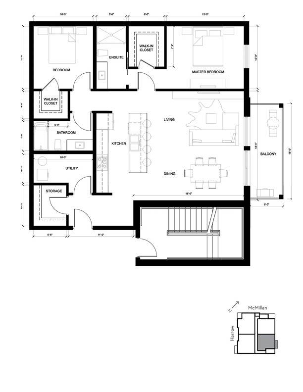 Harvard 2D Floorplan