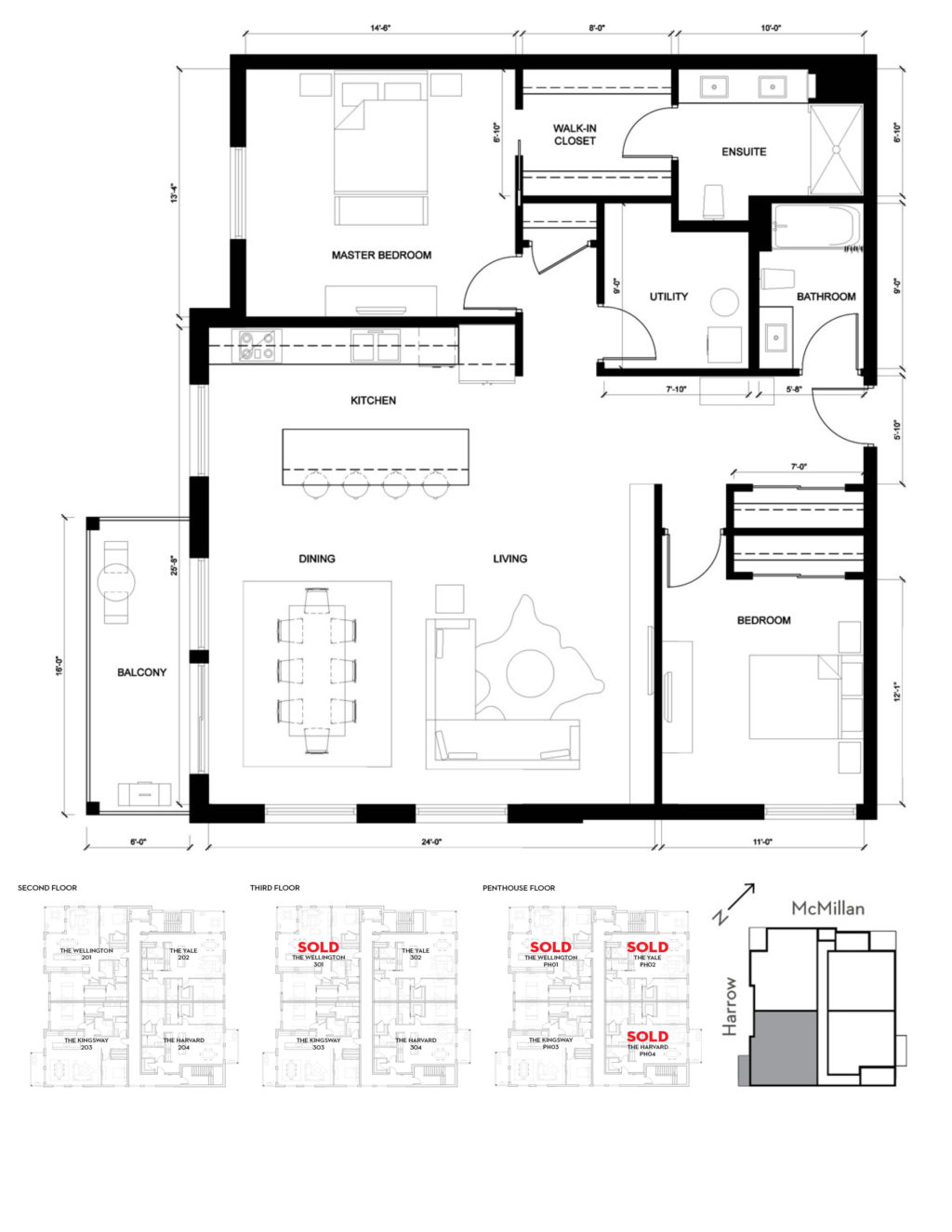 Kingsway 2D Floorplan