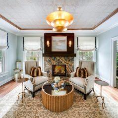 Living Room Interior Design - McMullin Design Group