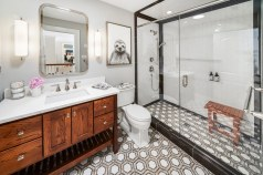 Designer Bathroom - McMullin Design Group