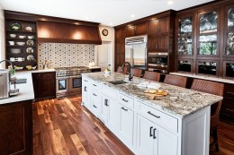 Custom Kitchen - McMullin Design Group