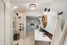 Panda bathroom