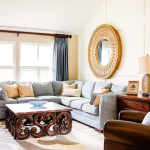 Designer Family Room