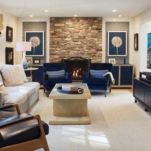 Designer Family Room