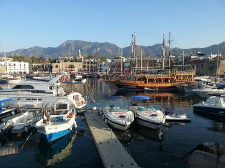 The northern port city of Kyrenia (Girne), a stunning place to spend the afternoon.