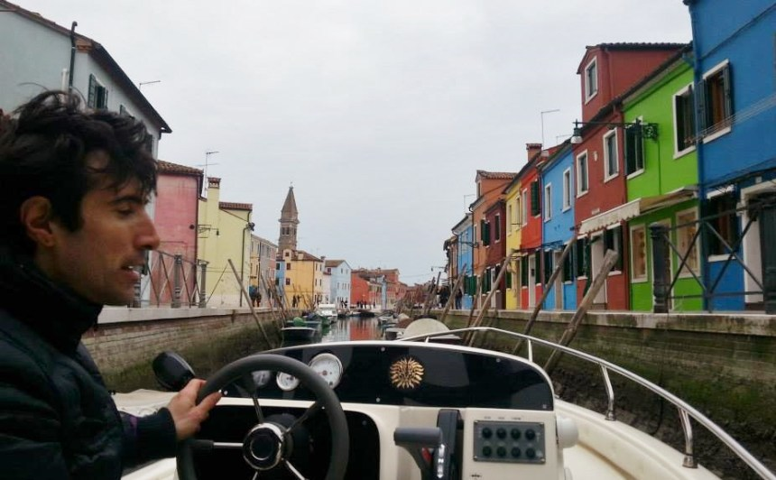 The colourful little island of Burano.