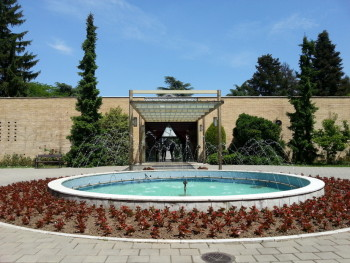 """The tomb and museum of Marshall Josip """"Tito"""" Broz."""