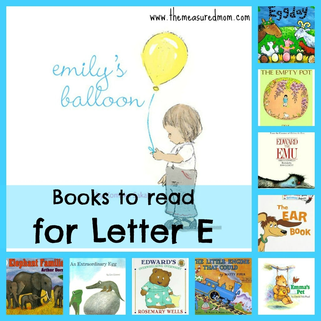 Books To Read For Letter E