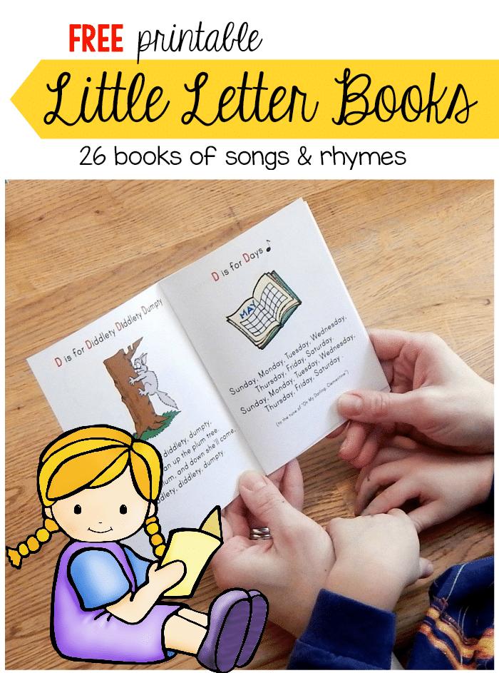 Printable Songs And Nursery Rhymes For Kids Little