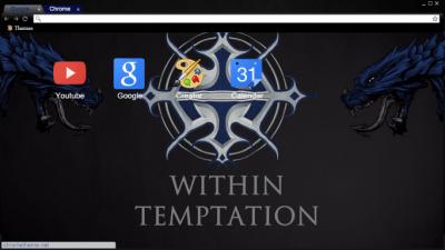 within temptation chrome themes