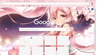 Happy Holidays Anime Girl Wallpaper 1920x1080 Anime Chrome Themes Themebeta