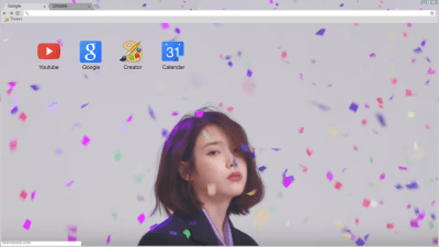 Anime Wallpaper Cherry Blossom Girl Aesthetic Chrome Themes Themebeta