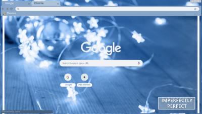 Blue Aesthetic Chrome Themes Themebeta