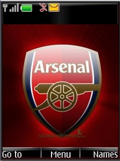 Arsenal Emblem s40v3theme by shadow_20