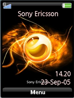 Sony ericsson theme by shadow_20