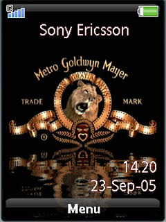 Animated MGM sonyericsson theme by shadow_20