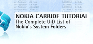 UID List of Nokia's System Folders