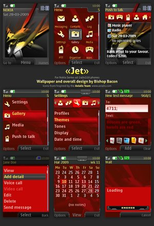 Jet Nokia Theme – Series 40