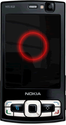 Hypnotic Pulsar flashlite screensaver by supertonic