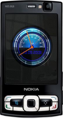 Flashlite Race Clock 2 screensaver by Supertonic