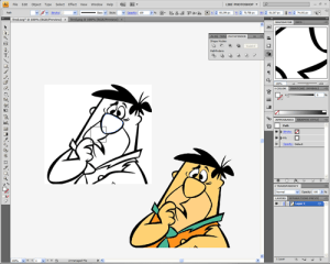 Convert A Cartoon Picture To A Svg Icon or image