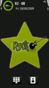 Rock by olek21 symbian 5th theme