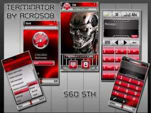 Terminater machine theme by acros08