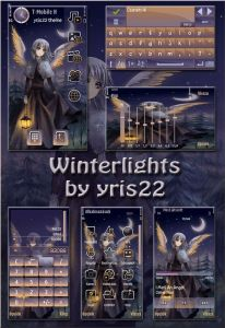 winter light theme