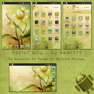 vector android themes
