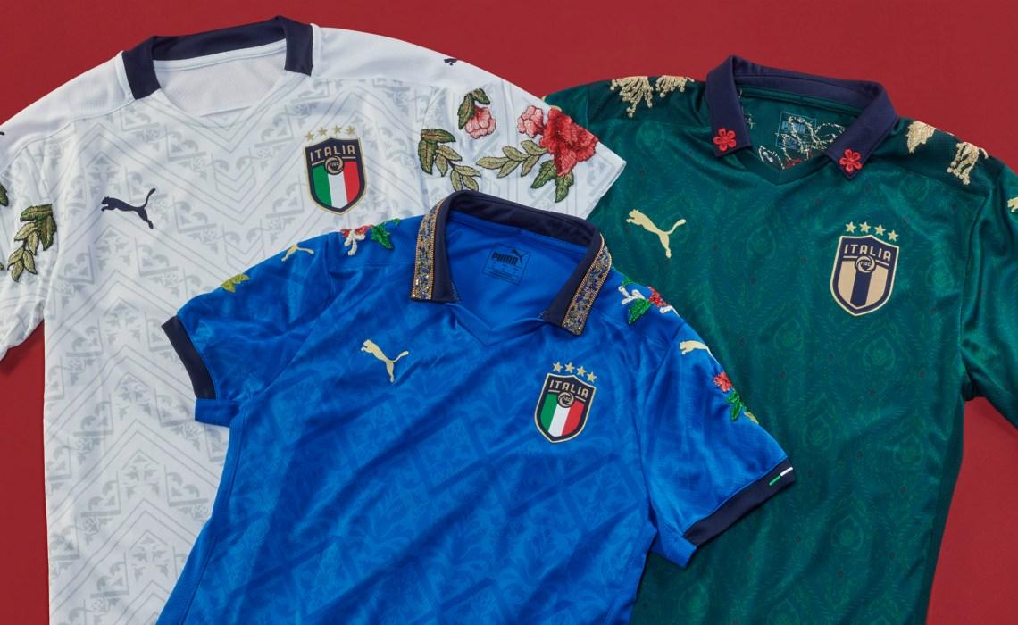La nazionale s'ispira al Rinascimento con le maglie di Puma e The Football Gal