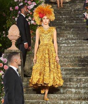 Dolce&Gabbana Rinascimento e Rinascita in passerella a Firenze