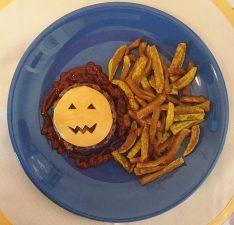 Zucca e mostri piatti forti della cena di Halloween