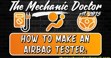 DIY Air bag tester: How to tutorial