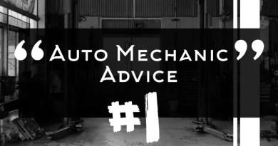 Auto Mechanic Advice 1