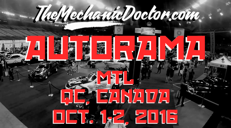 Autorama Montréal Car Show - Video Recap